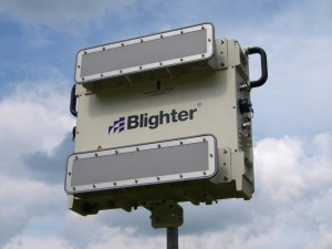 Blighter B402-SP E-scan Radar with W20S Antennas