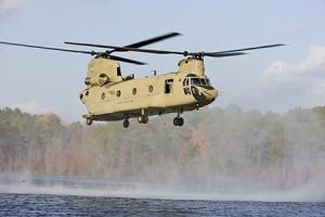 CH-47F Chinooks